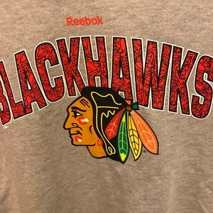 Reebok Shirts & Tops - ❤️.   Reebok Blackhawks Girls Sweatshirt